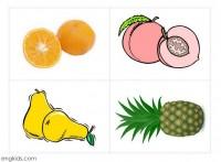 אננס תפוז ואגס